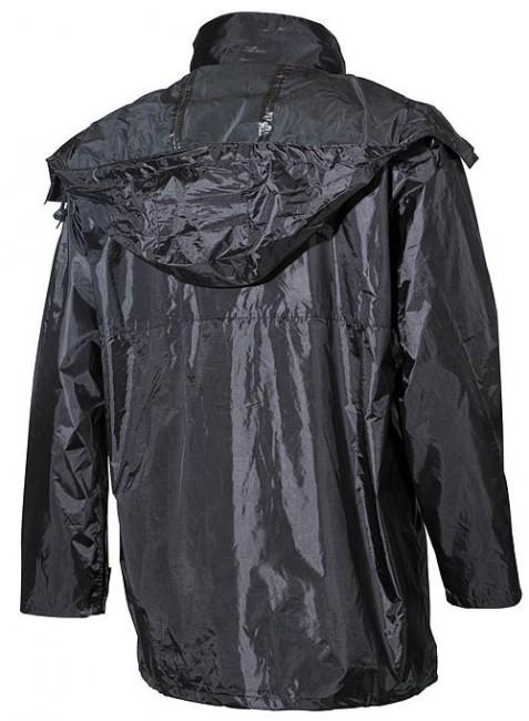 c45b049eca MFH nepremokavá bunda do dažďa PVC čierna