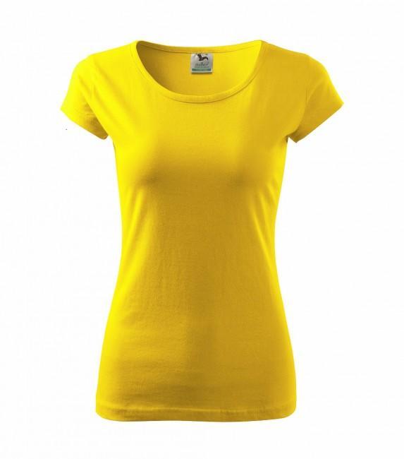 54f5937088c32 Adler Pure dámske tričko, žlté, 150g/m2 | ArmyMarket