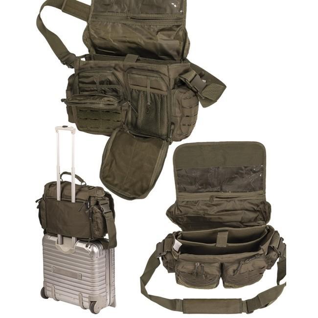 Mil-Tec Large Taška cez rameno taktická Paracord ZELENÁ  15b4fb95289