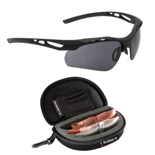 654f80e32 Swiss Eye® Attack taktické okuliare, čierne | ArmyMarket