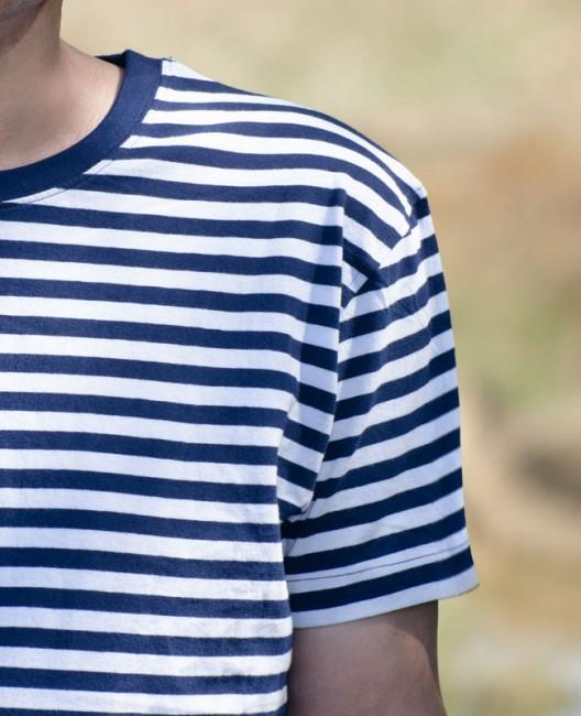 7ff94633cdff tričko námornícke Adler Sailor tmavomodré rukáv