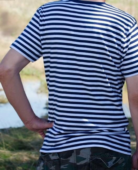 55ece03be9b1 tričko námornícke Adler Sailor tmavomodré vzor