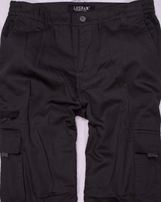 649a6e8fab13 Pánske zateplené nohavice loshan ernesto svetlejšie čierne