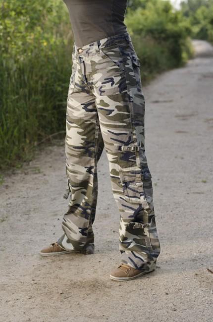 1ab70de3a682 Dámske nohavice Rufoor custom zboku