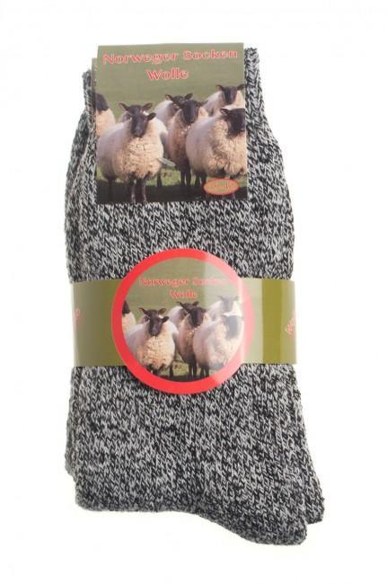 baadc658f82 Nórske ponožky z ovčej vlny
