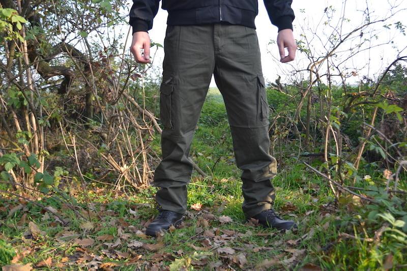 ffd60925faeb Pánske zateplené nohavice Loshan disaster olivové