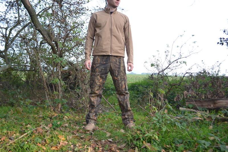 a7632d44c1ac Loshan DarkForrest pánske zateplené nohavice vzor Real tree tmavé