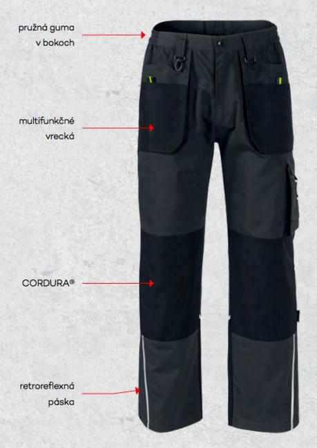 620a7fa6125b Rimeck Ranger pánske pracovné nohavice Cordura®