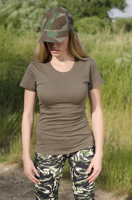 545e6ada27d19 Helikon-Tex dámske krátke tričko coyote, 165g/m2 | ArmyMarket
