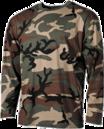 Maskáčové dlhé tričká
