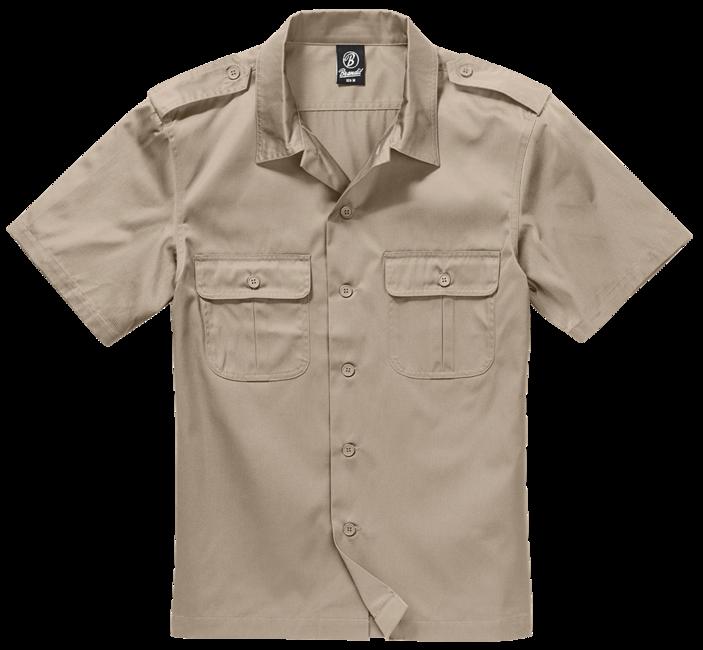 4716eb8d0814 pozerá 36 návštevníkov Brandit US košeľa s krátkym rukávom