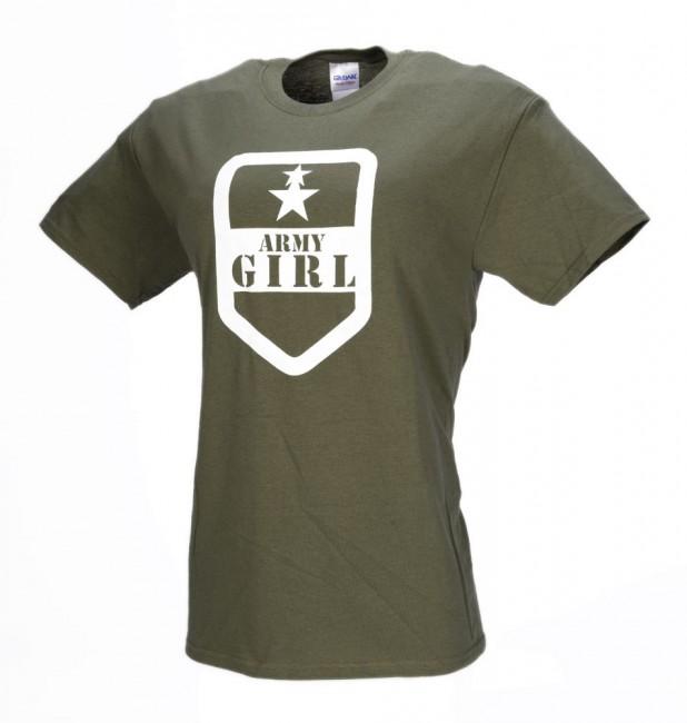 fd10f3911c519 pozerá 16 návštevníkov M-Tramp Army girl krátke tričko, olivové zväčšiť  obrázok