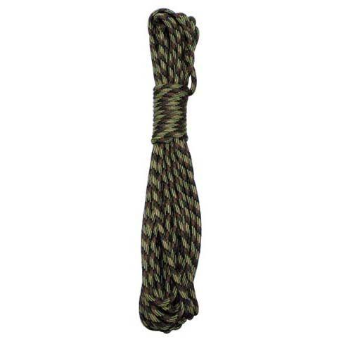 MFH nylonové lano 15 metrov 5mm maskáčové