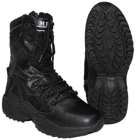 MFH Taktická kombinovaná obuv, čierna