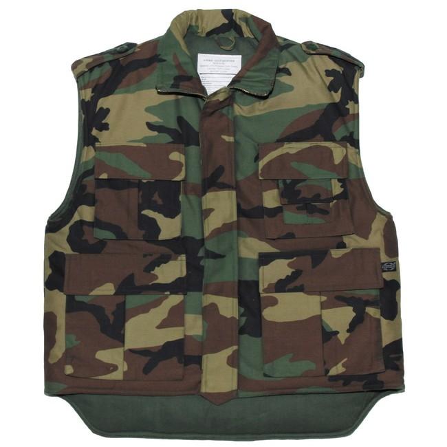 2d5e4e15563a pozerá 33 návštevníkov MFH US Ranger zateplená vesta woodland zväčšiť  obrázok