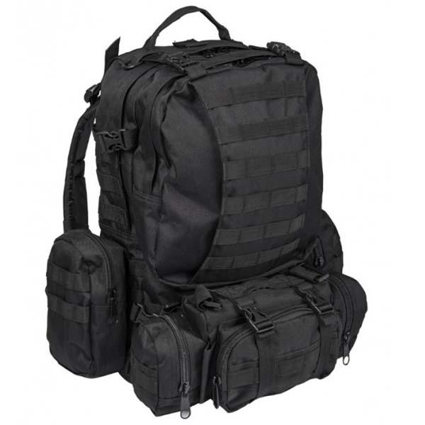 b90fe175605 pozerajú 3 návštevníci Mil-Tec Defence ruksak čierny