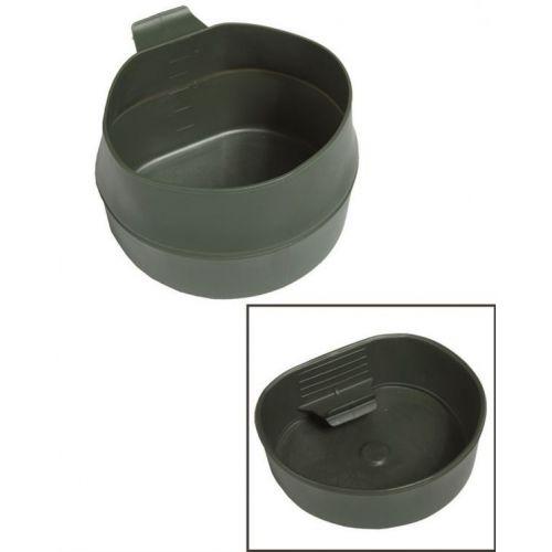 Mil-tec skladací hrnček, olivový 200ml