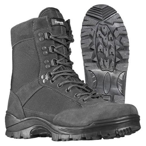 Mil-Tec taktická obuv na zips, sivé
