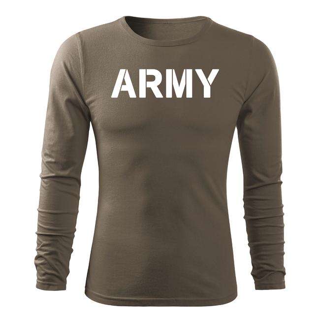 08973083e0f9 ... O T Fit-T tričko s dlhým rukávom army