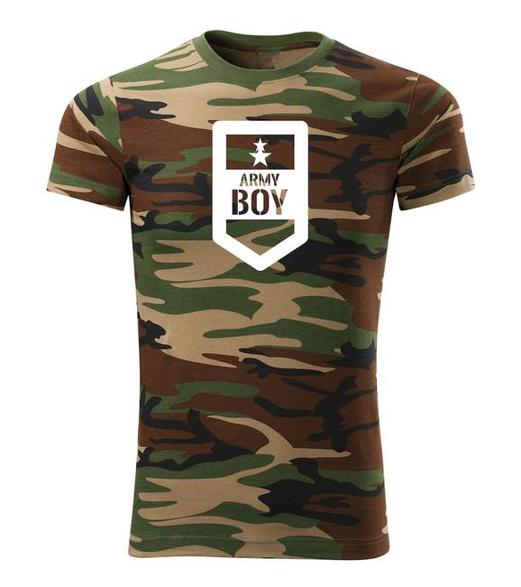 e5d3bfb61 ... O&T krátke tričko army boy, maskáčová 160g/m2 zväčšiť obrázok