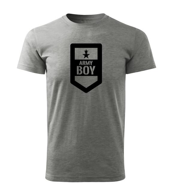 b820ff504 ... O&T krátke tričko army boy, sivá 160g/m2 zväčšiť obrázok