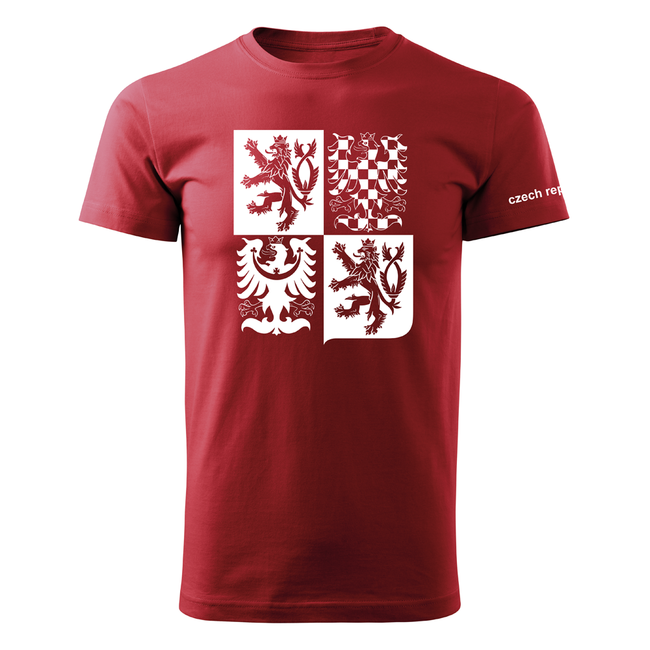 147ac2d502b4 ... O T krátke tričko český velký znak