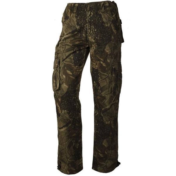 6f7b141ab759 ... Loshan Leafy pánske zateplené nohavice vzor Real tree tmavé zväčšiť  obrázok