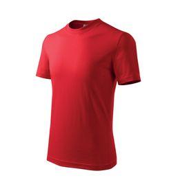 Adler Classic detské tričko, červené, 160g/m2