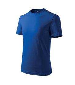 Adler Classic detské tričko, modré, 160g/m2