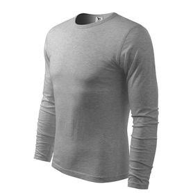 Adler Fit-T tričko s dlhým rukávom, sivé, 160g/m2