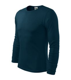 Adler Fit-T tričko s dlhým rukávom, tmavomodré, 160g/m2