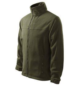 Adler flisová bunda, farba military, 280g/m2