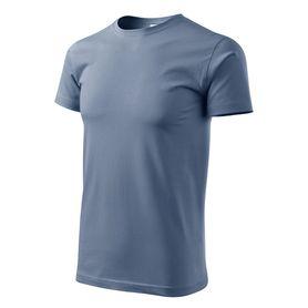 Adler Heavy New krátke tričko, denim, 200g/m2