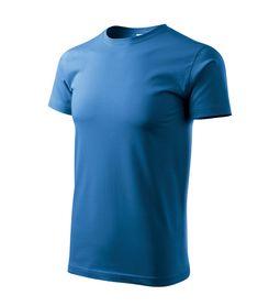 Adler Heavy New krátke tričko, modré, 200g/m2