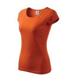 Adler Pure dámske tričko, oranžové, 150g/m2