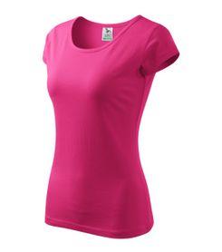 Adler Pure dámske tričko, purpurové, 150g/m2