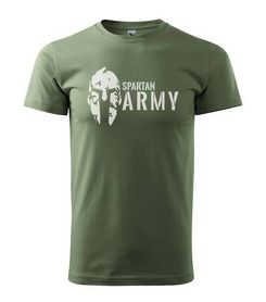 Adler tričko Spartan olivové