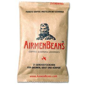AirmenBeans pastilky Coffee-Guarana, 21ks