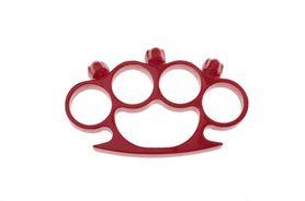 Boxer na ruku, lebkový, červený