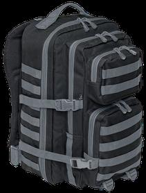 Brandit US cooper Large ruksak black-anthracid, 36L