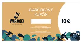 Darčekový kupón - 10 €