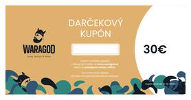 Darčekový kupón - 30 €