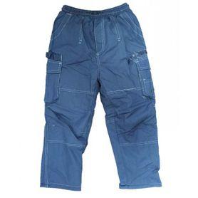 Kidden detské nohavice zateplené succes modré