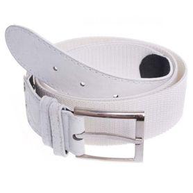 Foster opasok s kovovou prackou, elastický, biely, 3.6cm