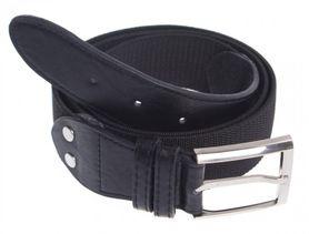 Foster opasok s kovovou prackou, elastický, čierny, 3.6cm