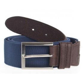 Foster Supple opasok s kovovou prackou, elastický, modrý, 4cm