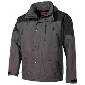 FOX nepremokavá bunda do dažďa High Mountain čierno-zelená