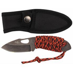 Fox Outdoor celokovový nôž, Redrope malý,
