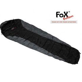 FOX mumia economic spacák čierno - šedý+/ - 0°C