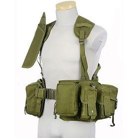 GFC Tactical Modular taktická vesta, olive drab